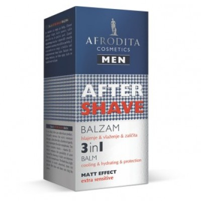 Men BALSAM AFTER SHAVE 3in1 pentru ten sensibil 50ml