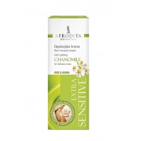 DEPILATION Extra Sensitive Chamomile Crema depilatoare zone delicate 100ml