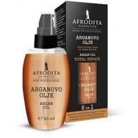 HAIR PROFESSIONAL Serum reparator 6in1 cu ulei de argan pentru par 50ml