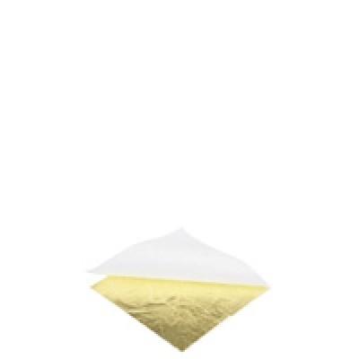 PURE GOLD 24k LUXURY Foite de aur, set 8buc 50x50mm